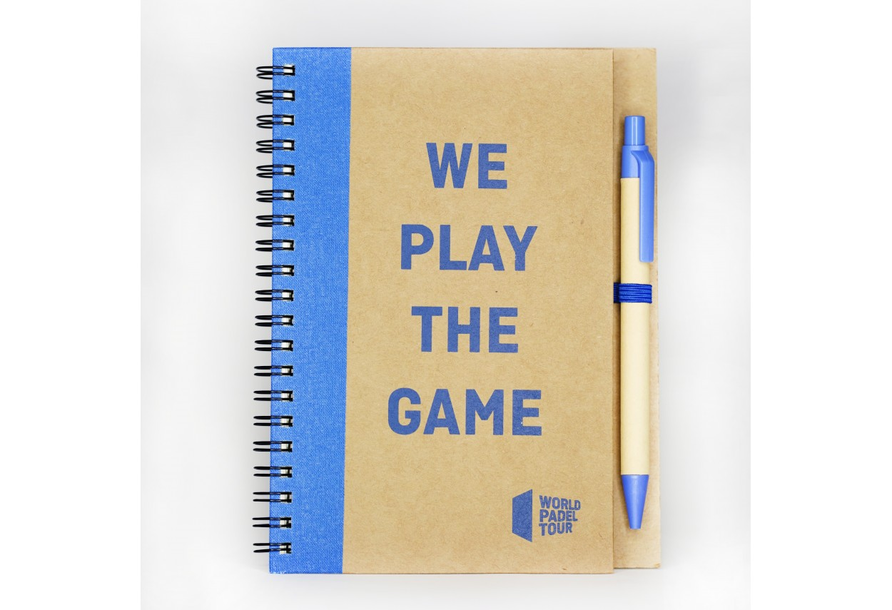 'We play the game' Notebook