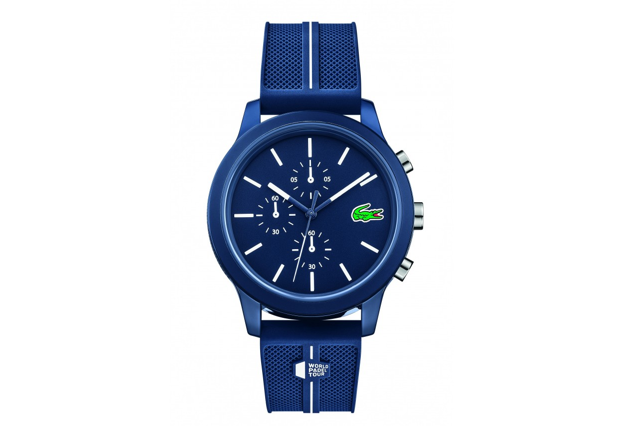 Blue Unisex Chronograph Watch