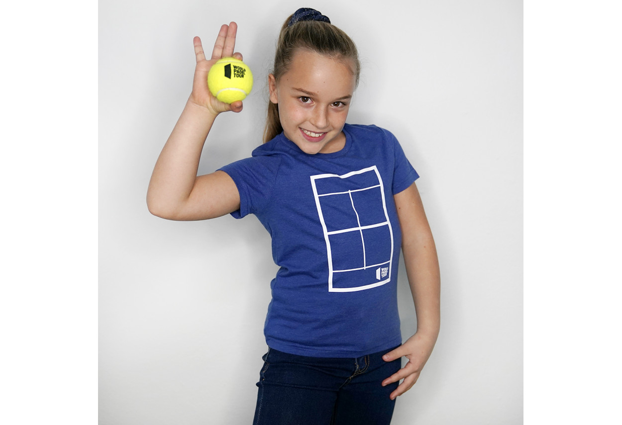 "Camiseta Pista kids ""World..."