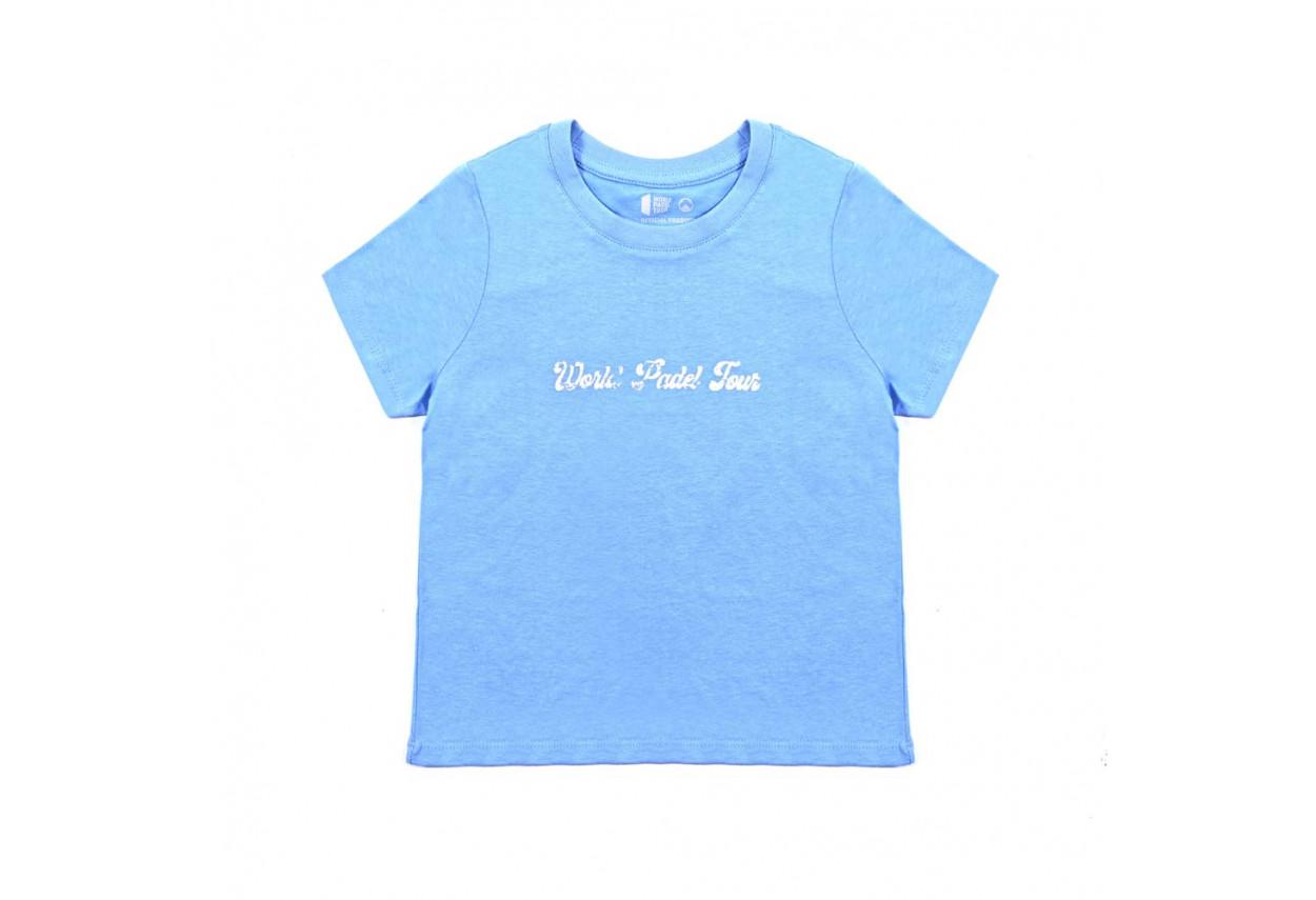 Camiseta Celeste Kids